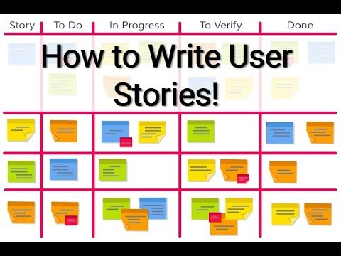 How to Write User Stories