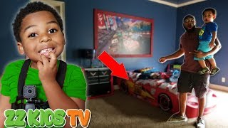 Download CUTE MONSTER or TOOTH FAIRY  What Is That By ZZ KID's BED? Vlogskit