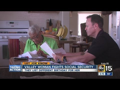 AZ woman fights to have social security change her birthday