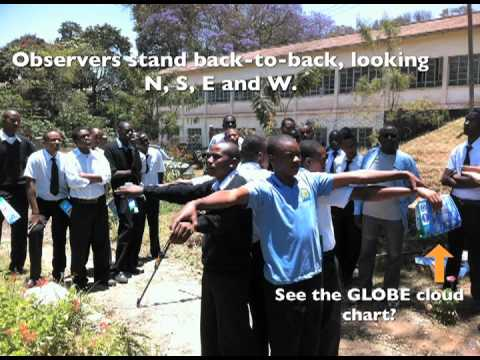 Ground Truthing Clouds - GLOBE takes NASA protocols to school