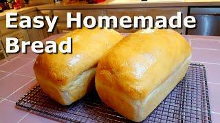 Homemade Bread for Beginners - Easy
