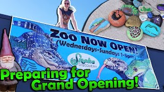 Finishing our Reptile Zoo!! (Building Update #19)