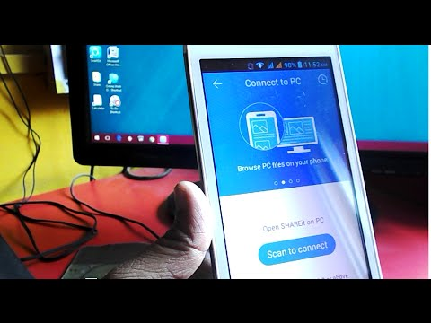 How to Connect PC and Phone via Latest Shareit (PC-Phone-PC)