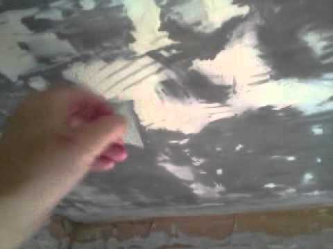 how to remove ceiling tile adhesive