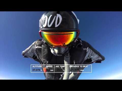 World Record Breaking Wingsuit Flight
