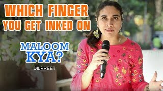 Which Finger You get Inked on ? | Maloom Kya | Voting Special |Mirchi Dilpreet