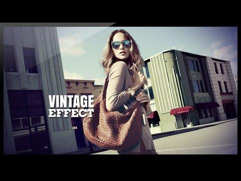 Photoshop Tutorial Photo Effects - Vintage Effect