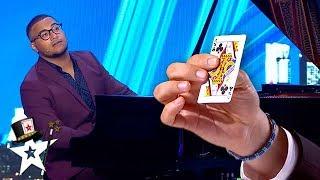Magician/Pianist Does Amazing Card Trick on Spain's Got Talent 2020 | Magicians Got Talent