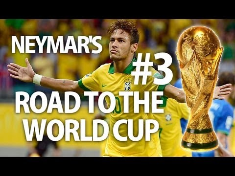 Fifa 13 | Neymar's Road To The World Cup - EP. 3
