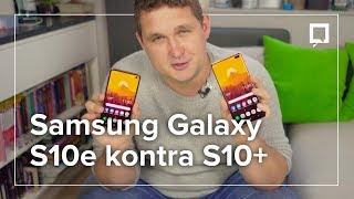 Samsung Galaxy S10e lepszy od S10+? WIELKIE PORÓWNANIE