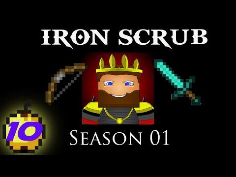 Minecraft: IRON SCRUB - S01E10 - Era of Some Level Grinding