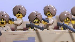 Lego battle of Saragarhi - stop motion