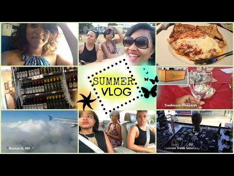 Summer Vlog | Girls Night Out, Fashion Truck Saturday, Moving to North Dakota???
