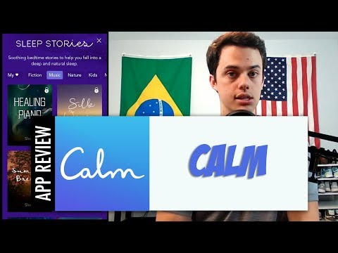 Calm - Guided stress relief and relaxation for meditation