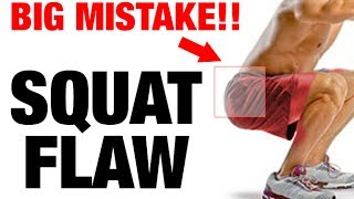 How to Squat Properly (MAJOR FORM FIX!)