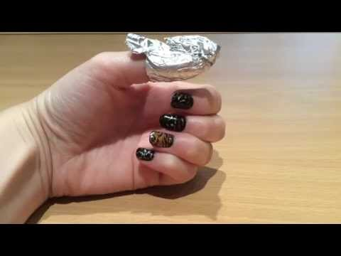 HOW TO MAKE YOUR OWN FOIL WRAPS FOR GEL NAIL REMOVAL
