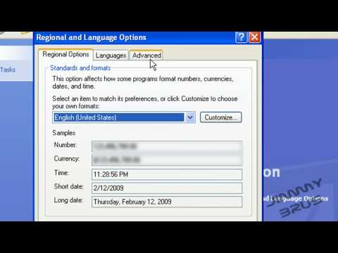 How to Install Asian languages on Windows XP