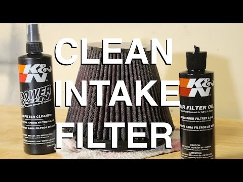 How to PROPERLY Recharge Your Intake Filter
