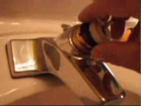 How to fix a leaky faucet.wmv
