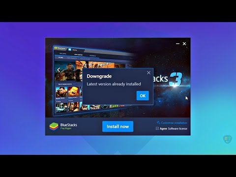 How To Fix 'BlueStacks 3 Latest Version Already Installed' (2018) | Completely Uninstall BlueStacks