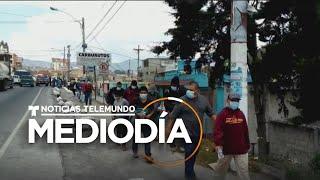 Temor en Guatemala ante posibles contagios de personas deportadas | Noticias Telemundo