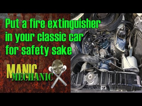 The Best Fire Extinguisher For Your Car How to Clean an ABC FIre Episode 7 Manic Mechanic