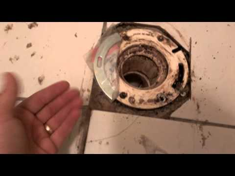 How to Replace a PVC Toilet Flange  Pt. 1