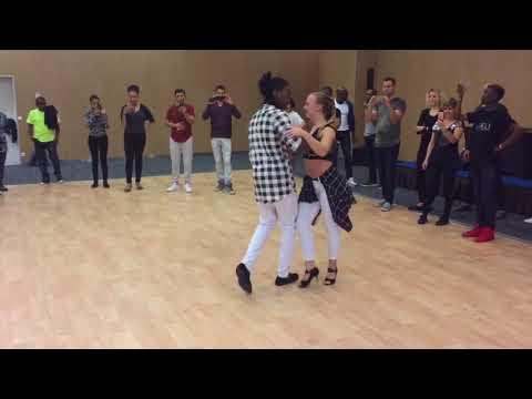 Jojo and Mickaela - Kizomba tricks @ Suave Dance Frstival 2018