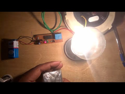 REMOTE CONTROL CIRCUIT FOR TURN ON/OFF ANY HOME APPLIANCES