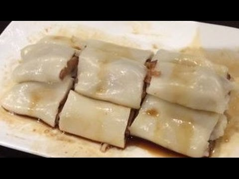 How to make Microwave Rice noodle rolls from yum cha (cheung fun) GLUTEN FREE!