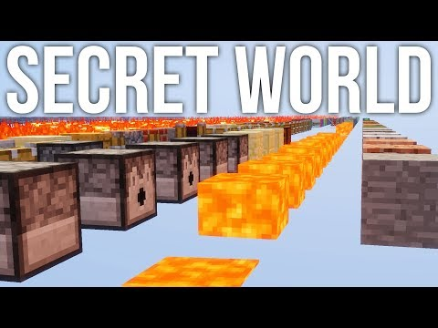 The Secret Hidden Debug World in Minecraft