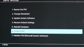 How To Reset Your Ps4 To Factory Settings
