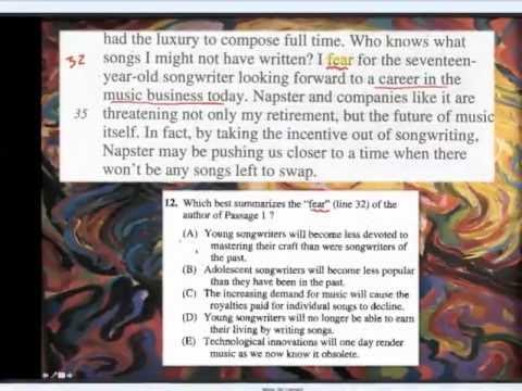 SAT 5-Week Comprehensive Prep Course