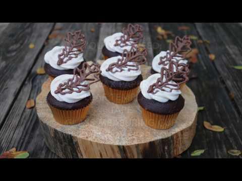 How to Make Fall Leaf Cupcakes