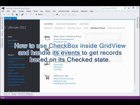 CheckBox inside GridView for Select / Deselect All in ASP.NET Webform