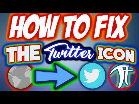 How To Fix The TWITTER Icon On Your Youtube Banner! | TechTutorial