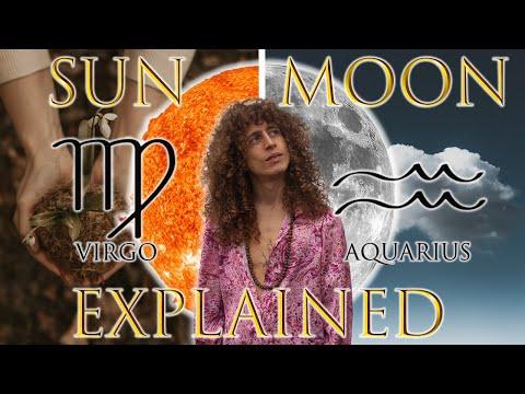 ☉ Sun in Virgo ☽ Moon in Aquarius
