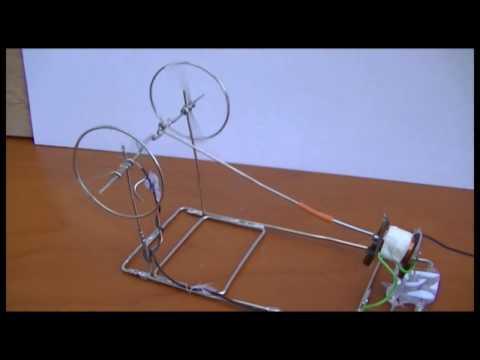 Paper clip motor Mk 2. (Solenoid Engine)
