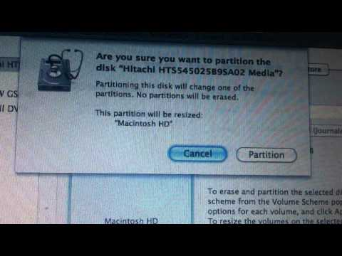 How to remove the Mac OS X Lion partition