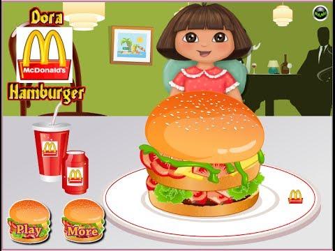 Dora The Explorer Online Games - Dora Kitchen Design Game