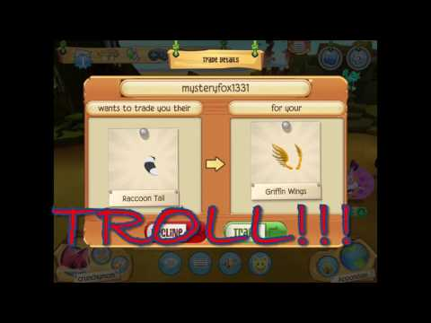 Griffin Wings Trade Attempts Animal Jam Play Wild, It Ain't
