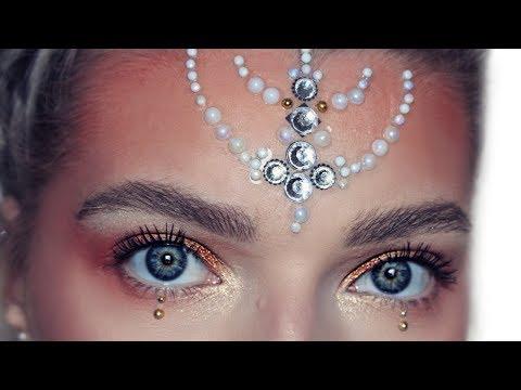 Sunset Festival Makeup Look InYourDreams | LoveFings