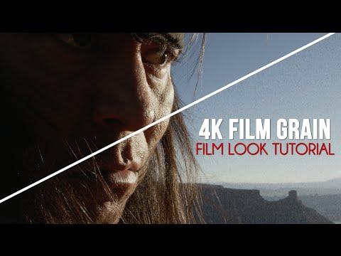 Film Grain Tutorial - Free 4K Film Grain - Adobe Premiere