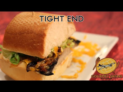 Manly Grilled Portobello Mushroom Burgers | Gourmet safari