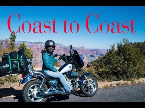 Coast to Coast on a Motorcycle