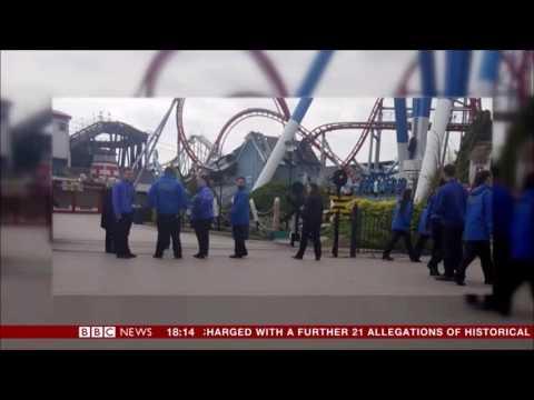 Tragic Incident on Splash Canyon at Drayton Manor - BBC News Report