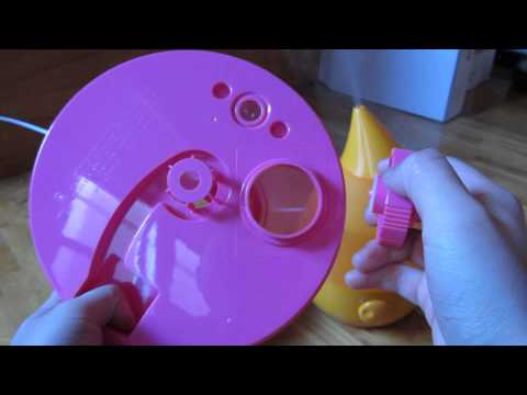 Crane Ultrasonic Cool Mist Humidifier - View of Parts Up Close