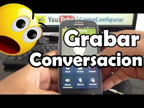 como grabar conversacion en samsung galaxy s3 i9300 español Full HD