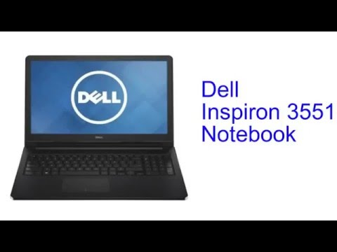 Dell Inspiron 3551 Notebook Specification [INDIA]