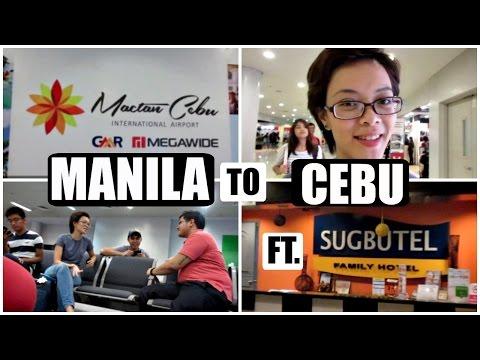 [VLOG] MANILA TO CEBU Ft. SUGBUTEL | Cebu Day 1